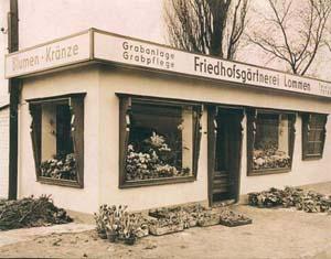 Blumen Lommen in frühen Jahren